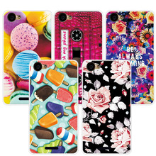 Adlikeme Coque Lovely Painted Phone Cases For BQ BQS-5060 Slim Case Cover Art printed Capa For BQ BQS 5060 Slim Fundas(China)
