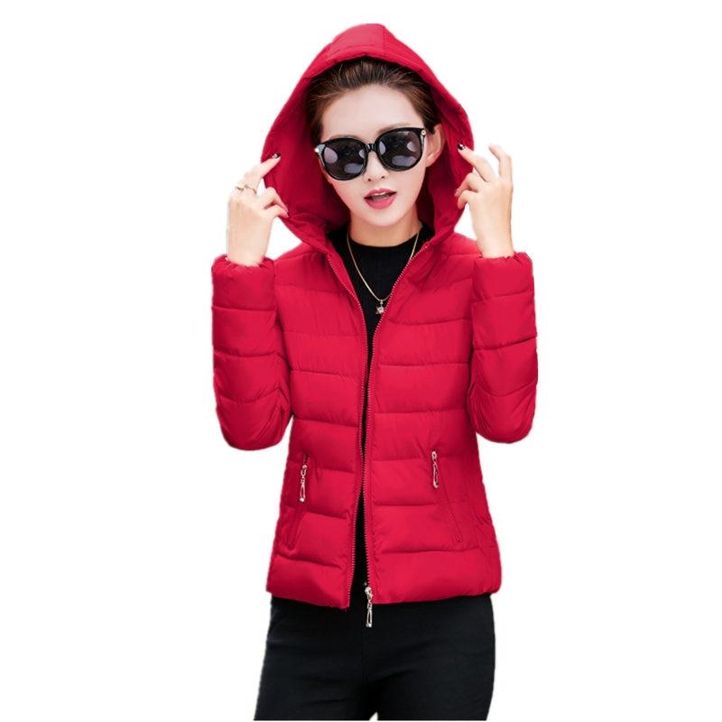 2017 New Autumn And Winter Women Coat  Korean Plus Size Slim Thick Short Down Jacket Cotton Parka Overcoat Female C343Одежда и ак�е��уары<br><br><br>Aliexpress