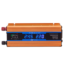 High Quality 24V 1600W Car inverter DC 24V to AC 220V Power Supply Car Voltage Converter with USB Charger CY923-CN