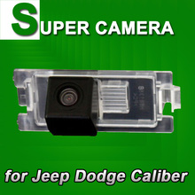 For SONY CCD Jeep Dodge Caliber car rear view back up camera car parking reverse camera with colorful guide lines