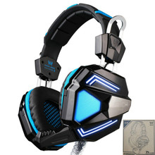 Each G5200 Pro Virtual 7.1 Surround Sound Gaming Headset Wired USB Game Headphone Fone with Mic for PC Gamer Vibration LED Light