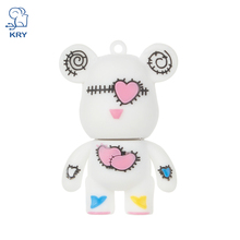 KRY 2017 Cute pen drive Rilakkuma Gloomy bear usb flash drive 64GB Silicone cartoon U Disk 4gb 8gb 16gb 32GB pen drive memory st