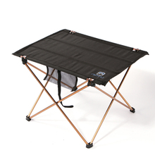 Portable Folding Table Desk Aluminium Alloy Ultra-light Durable Foldable Table Barbecue Desk for Camping Picnic Outdoor Activity