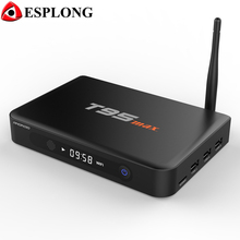 T95 Max 2GB DDR3 32GB ROM Metal Case Android 5.1 TV BOX T95max Amlogic S905 Quad Core BT4.0 WiFi Media Player With LED Display