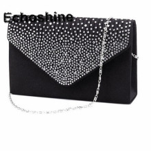 Excellent Quality 2016 NEW Ladies Evening Party Small Clutch Bag Eveningbag Bridal Purse Handbag Bolsas Feminina A1000(China)