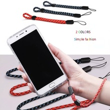 New Braided Mobile Phone Strap Hand Wrist Anti-slip Adjustable Straps For Phone Camera USB Holder MP3 PSP KEY Card Wholesale(China)