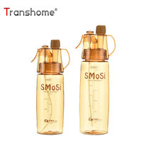 Buy Transhome Spray Water Bottle 500ml 600ml Creative BPA Free Brown Transparent Sport Bottles Outdoor Cycling Bicycle for $4.96 in AliExpress store