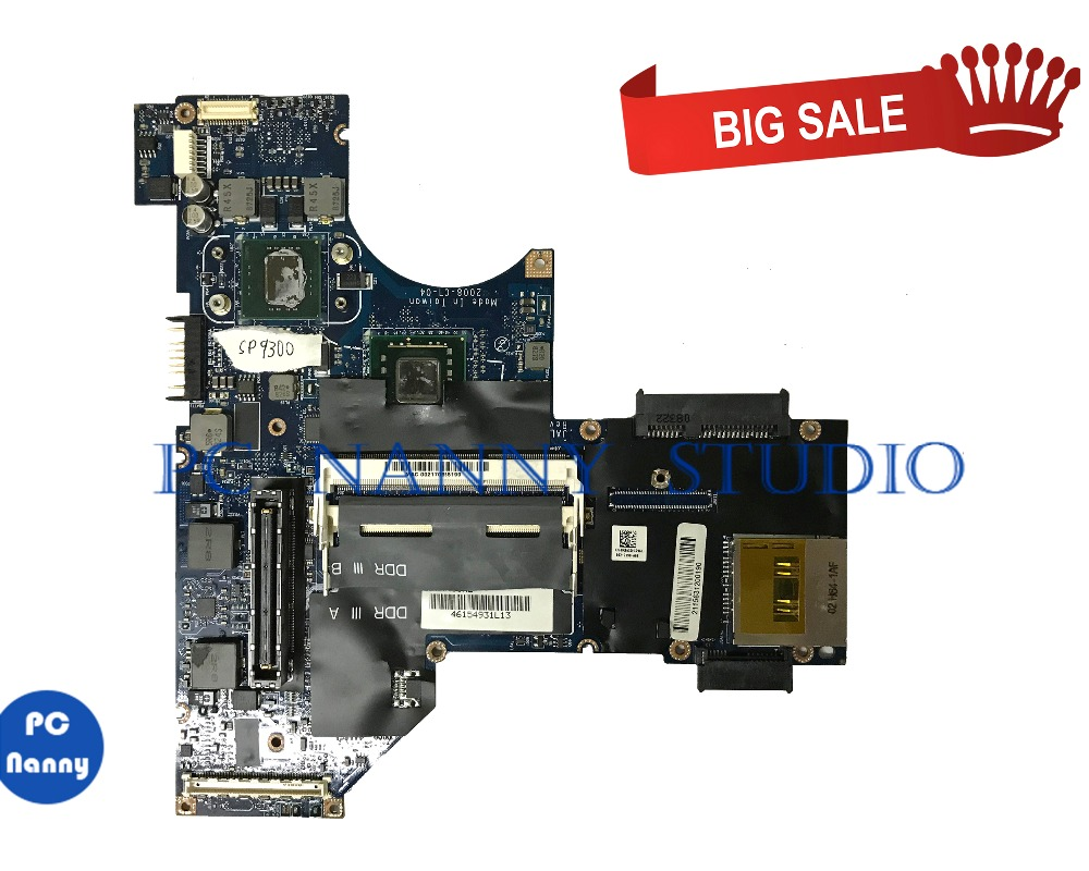 PCNANNY 0R865D R865D JAL10 LA-4151P for Dell Latitude E4300 Laptop motherboard SP9300 tested