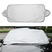 Aluminium Car Visor Cover Sun Shade Prevent Snow Frost Ice Dust Eaxterior Car Covers Accessories(China)