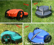 The Cheapest Robot Lawn Mower TC-158G with leadacid Battery,Auto Recharge,Remote Control,Free Shipping