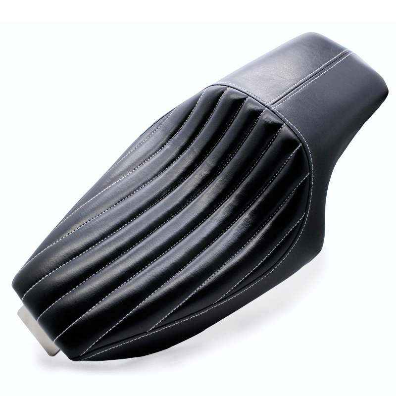 Arcade Motorcycle Leather Two Up Driver Front Rear Passenger Seat For Harley Davidson Sportster XL883 1200 Forty-eight 2004-2016