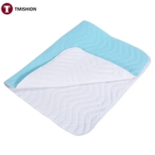 2 Sizes Urine Mat Washable Reusable Incontinent Urine Mat Breathable Super Absorbent Adult Baby Nursing Pad