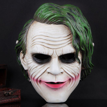 The Dark Knight Joker Masks Mardi Gras Mask Halloween Party Masquerade Cosplay Scary Clown Masks