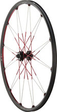 "Crank Brothers Cobalt 3 29"" QR15 Front / 142x12mm Rear Wheelset: Black / Red"