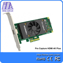100% Best Quality PCI Express SDK Pro Capture HDMI 4K Plus One Channel UHD Video Capture Linux PCI Card Magewell(China)
