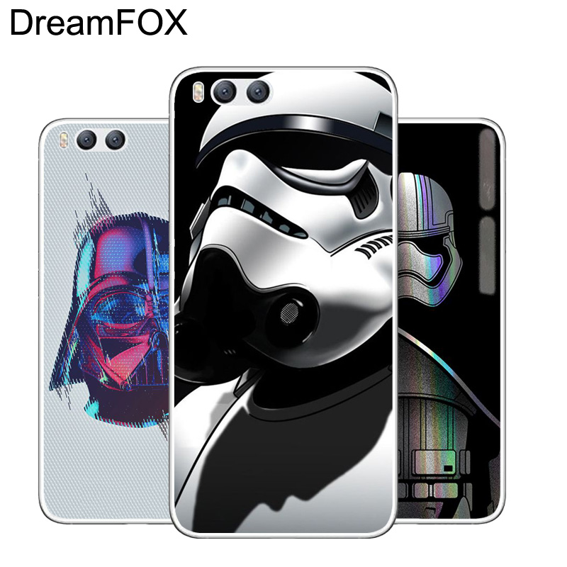 DREAMFOX L244 Star Wars Soft TPU Silicone Case Cover Xiaomi Mi Note 2 4 5 6 C S X Plus