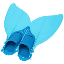 HOT 2016 NEW Teen Teenager Foot Swimming Fins Flippers Swim Fin Swimming Foot Flipper Diving Monofin Mermaid Tail(China)