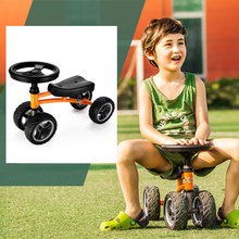 Child Drift Trike 4 Wheels Walker Kids Ride on Toys for 1-3 Years Tricycle Outdoor Driver