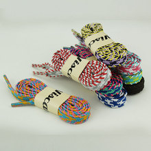 1pair Twill Elastic Shoe Laces Sports And Leisure Canvas Flattened Shoes Cord Clothes Cap Drawstring Apparel Sewing Accessories