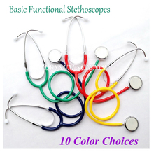 Basic Functional Home Single Head Economical Medical Stethoscope Cardiology Cute EMT Student Doctor Clinical Medical Stethoscope(China)