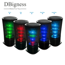 Dbigness Altavoz Bluetooth Mini altavoz inalámbrico coloridas luces LED pulso manos libres TF AUX FM Radio para Smartphone(China)