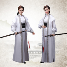 Swordsman Hanfu Costume Ancient Chinese Costumes for Men Dynasty Warriors Cosplay Ancient Chinese Warrior Costume(China)