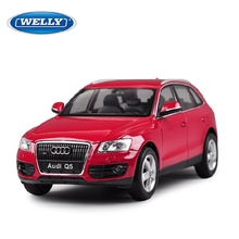 WELLY 1/24 Scale Car Model Toys AUDI Q5 SUV Diecast Metal Car Toy New In Box For Gift/Collection/Kids