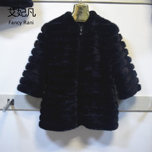 High Quality Real Mink Fur Jacket with Zipper Real Natural Mink Fur Coat Women Genuine Mink Fur Coat Russian Winter Warm Jackets
