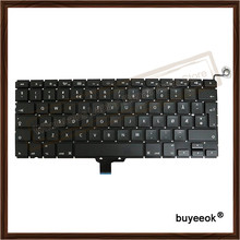 13.3'' New Laptop A1278 Arabic Keyboard For Apple Macbook Pro Keyboard Replacement 2009-2012(China)