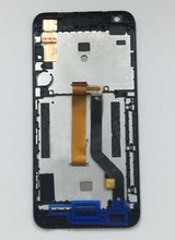 Black / White / Blue Touch Screen Sensor Glass Glass + LCD Display Screen Panel Assembly Frame For HTC Desire 626 626G 626S