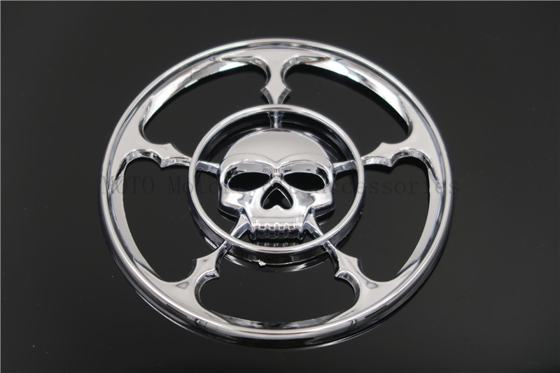 Skull Speaker Trim Grill Cover For Harley Touring Electra Street Glide 1996 1997 19998 1999 2000-2013 Skull Speaker Grills Cover<br><br>Aliexpress
