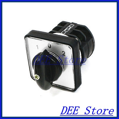 660V Ui 10A Ith 8 Terminals Rotary Cam Universal Changeover Combination Switch<br><br>Aliexpress