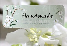 120PCS/lot  Fresh Style Flower Hand Made Seal Sticker High Quality Handmade Gift Label Sticker
