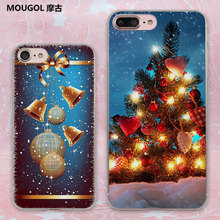 MOUGOL Merry Christmas Santa Claus snowman Style transparent clear phone shell case for Apple iPhone 6 6s Plus 7 7Plus SE 5 5s(China)