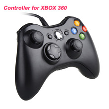 100% Guarantee 1pcs USB Wired Joypad Game Controller Joypad Joystick For Microsoft Xbox & Slim for 360 for PC for Windows 7