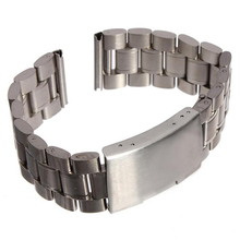 Stainless steel watch strap 20mm Watch Band Watch Band Metal Band Silver