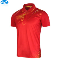 golf shirts sports series wicking breathable clothing polo T shirt men's/women jerseys badminton sportwear clothes tennis shirt(China)