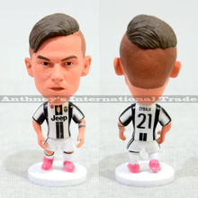 "Soccer 21# DYBALA (JUV-2016) 2.5"" Action Doll Toy Figurine"