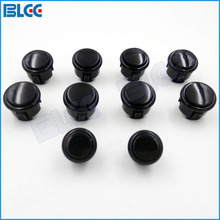 Arcade Joystick Push Button Replace Kit with 8 x 30mm Sanwa Buttons 2 x 24mm Buttons for Jamma Arcade DIY(China)