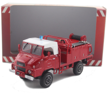 1/43 SIM A UNIC road sweeper vehicle model Alloy collection model Holiday gift