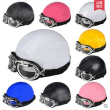 motorcycle helmet Korean helmet half covered men and women Four Seasons General safety helmet(China)