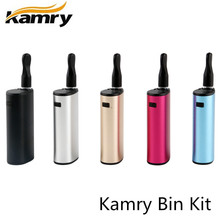 Buy Original Kamry Bin Mini Vape Pen Vaporizer CBD THC Oil 1.6ohm 650mAh Portable Electronic Cigarette Hookah Vape Box Mod for $10.21 in AliExpress store