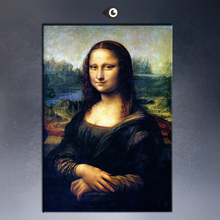 LEONARDO DA VINCI MONA LISA, C.1507 giclee print CANVAS WALL ART PRINT ON CANVAS OIL PAINTING