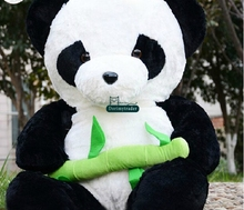 Dorimytrader 39'' / 100cm Large Stuffed Soft Plush Cute Giant Animal Panda Toy Nice Gift For Babies Free Shipping DY60463