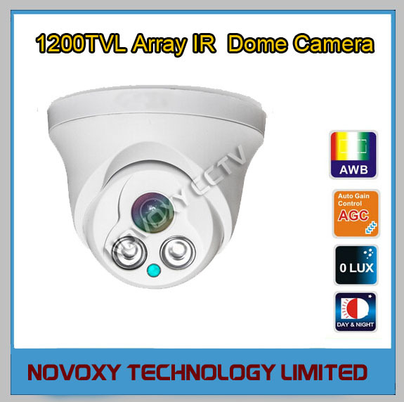Free Shipping 1200TVL 2pcs Array LED IR 30m Indoor Eyeball Dome Camera 3.6/6/8/mm Lens-Low Cost CMOS Security CCTV Monitoring<br><br>Aliexpress