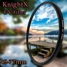 KnightX 52mm 58MM 67MM 77MM MC UV Lens Filter for Canon Nikon 1200D 750D D7000 D5100 D5300 D3200 D3300 d5 d6 t5i 600d 70d 90d t5(China)