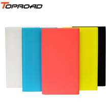Silicone Case for Xiaomi Power Bank 2 10000mAh Mi Charger Gel Rubber Cover Cases for Xiao mi 10000 mah Model PLM02ZM Anti-knock(China)