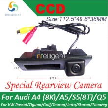 Rearview camera For VW Passat Tiguan Golf Jetta Sharan Touareg Car parking camera Trunk handle Night vision waterproof