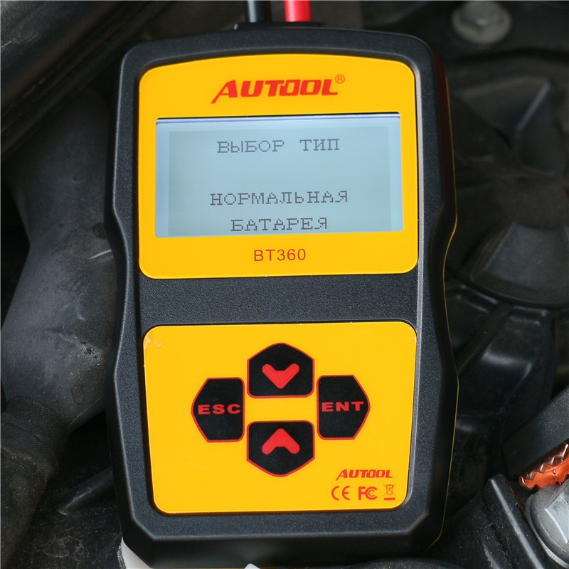 AUTOOL BT360 12V Digital Car Battery Tester for Flooded AGM GEL BT-360 12 Volt Automotive Battery Analyzer CCA free shipping<br><br>Aliexpress