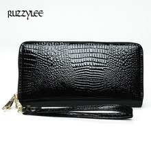 Buy 2017 New Women Pu Leather Wallets Designer Brand Woman Purse Lady Fashion Clutch Wallet Female Card Holder Carteira Feminina for $8.68 in AliExpress store